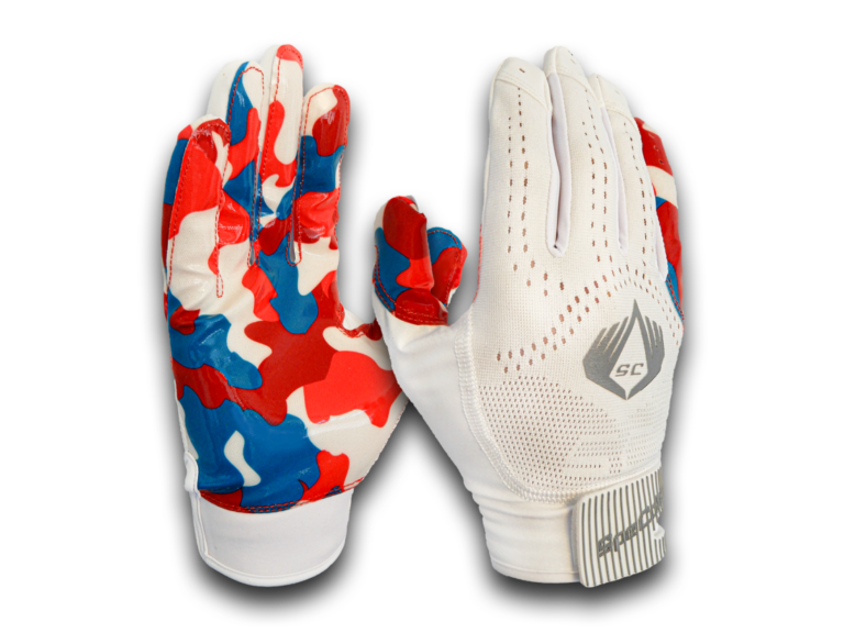 American Football Glove Bubblegum White SpeCatch