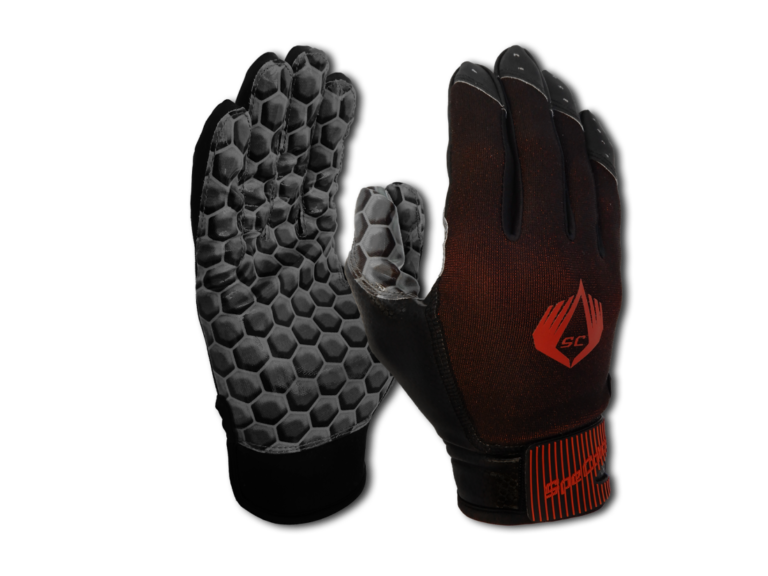 American Football Glove Hexagon Black SpeCatch