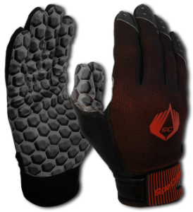 American Football glove hexagon black SpeCatch