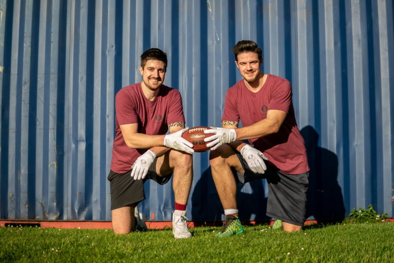 Marc und Daniel SpeCatch American Football Handschuhe