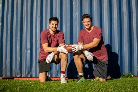 SpeCatch Marc u. Daniel American Football Handschuhe