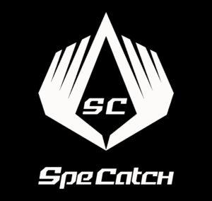 SpeCatch American Football Handschuhe Logo white/black